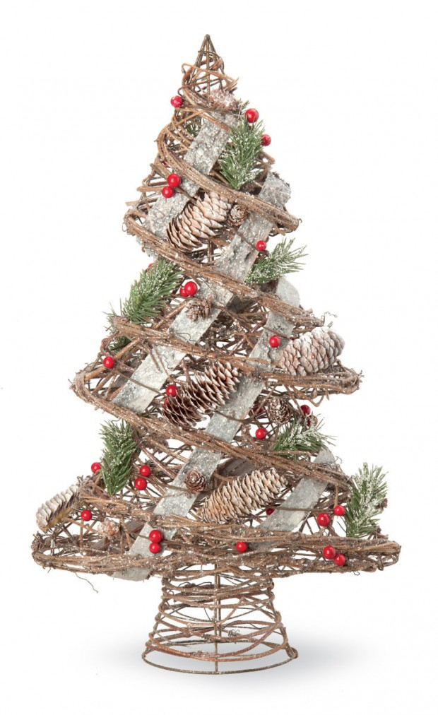 18 Absolutely Awesome Tabletop Christmas Tree Decorations (18)