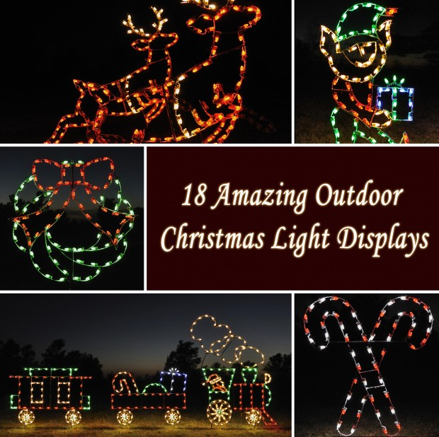 Outdoor Christmas Decorations Train