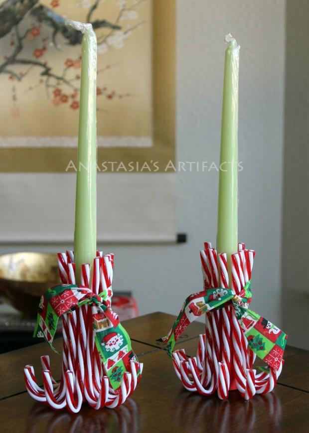 18 Creative Christmas Candle Ideas
