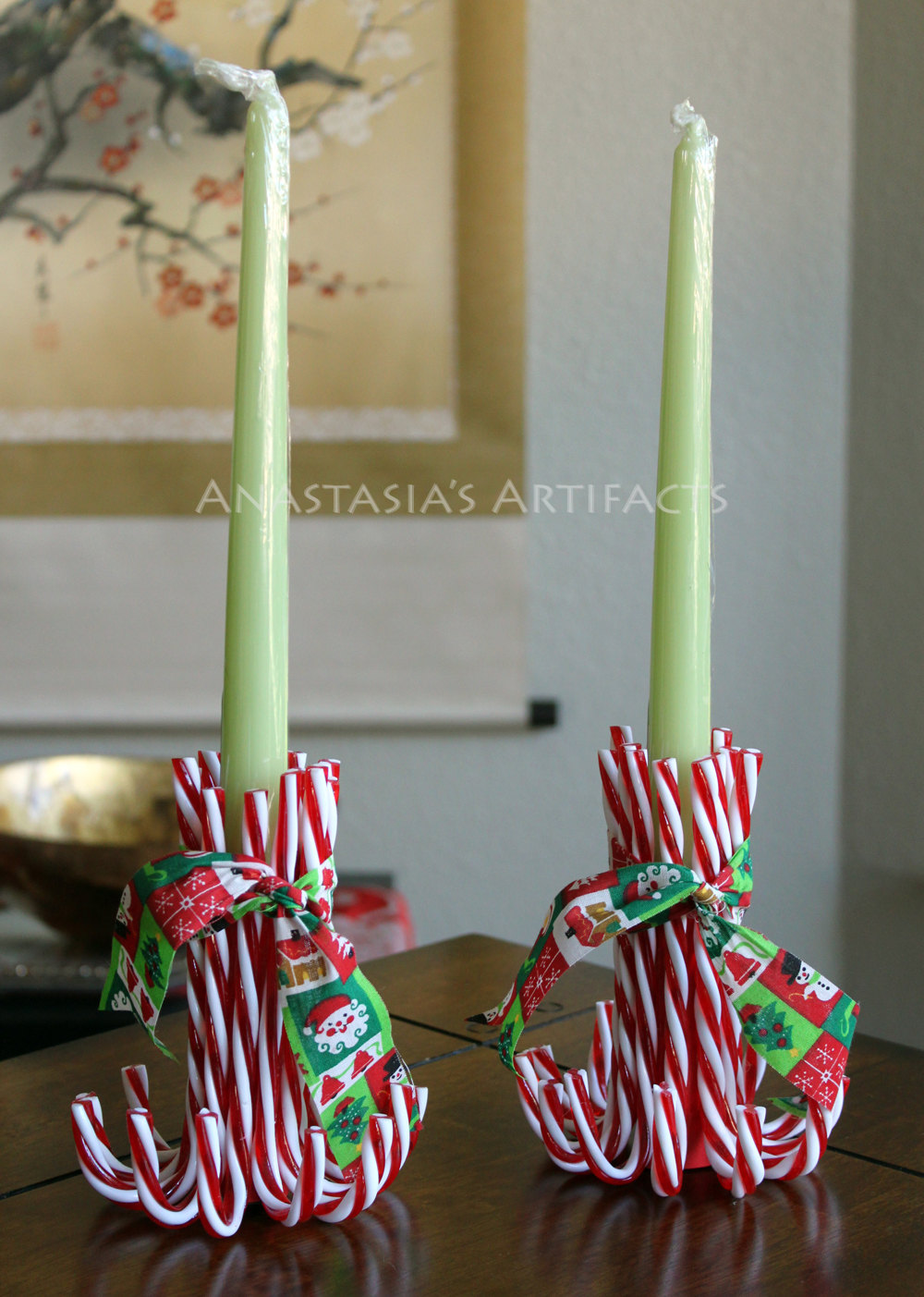 18 creative christmas candle ideas - Christmas Candle Decorations