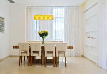 18 Modern Dining Room Design Ideas - elegant dining room, Dining Table, dining room