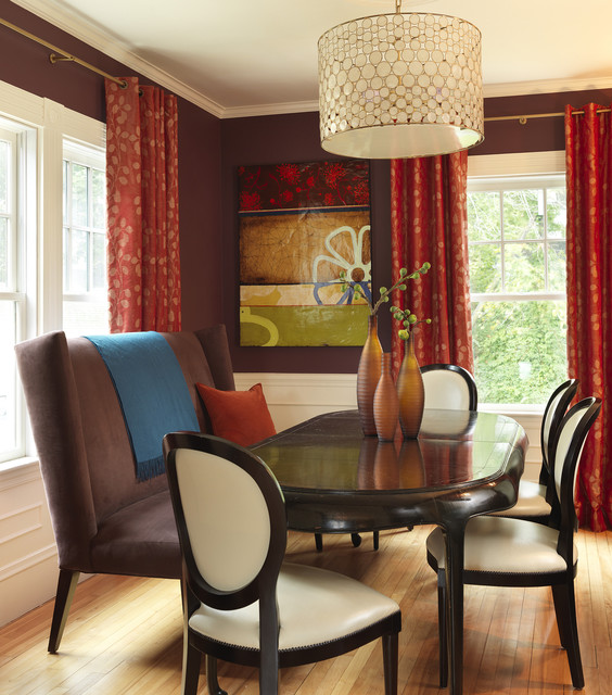 Dining Room Colors: 18 Modern Dining Room Design Ideas