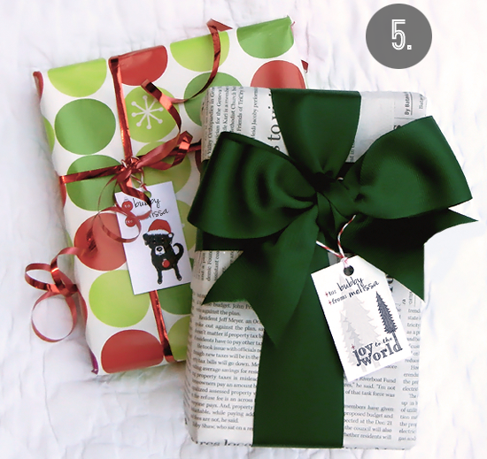 18Original and Creative DIY Christmas Gift Wrap Ideas (1)