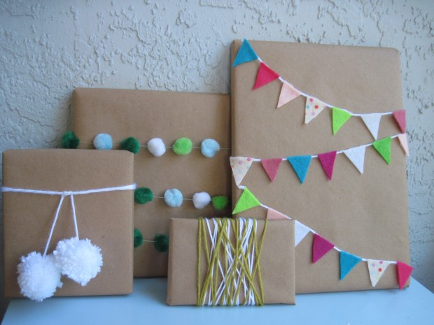 18 Original DIY Christmas Gift Wrap Ideas