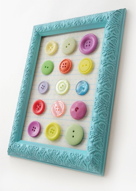 19 Creative and Funny DIY Projects with Buttons - Style Motivation