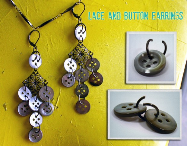 19 Creative and Funny DIY Projects with Buttons (11)