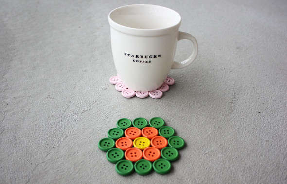 19 Creative and Funny DIY Projects with Buttons (2)