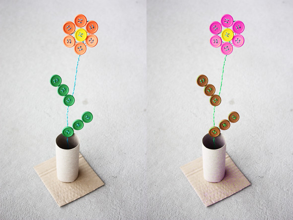 19 Creative and Funny DIY Projects with Buttons (3)