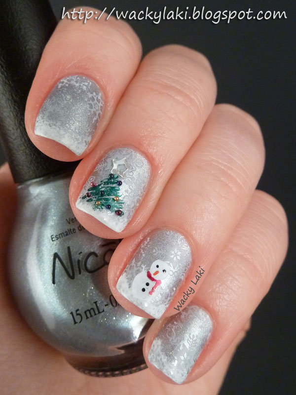 19 Gorgeous Winter Inspired Nail Art Ideas Style Motivation