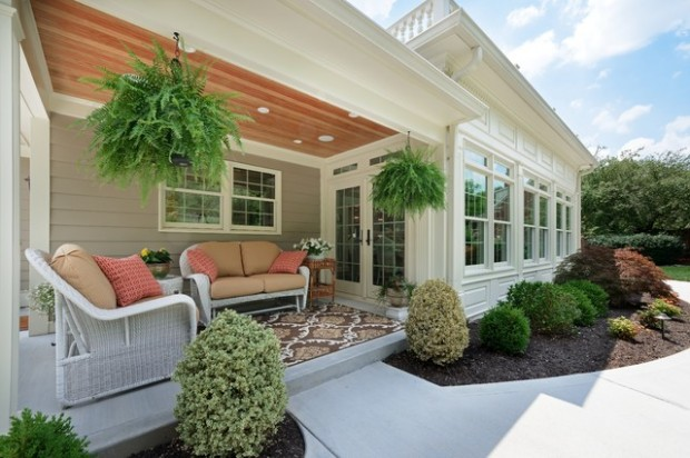 19 Great Traditional Front Porch Design Ideas  (14)