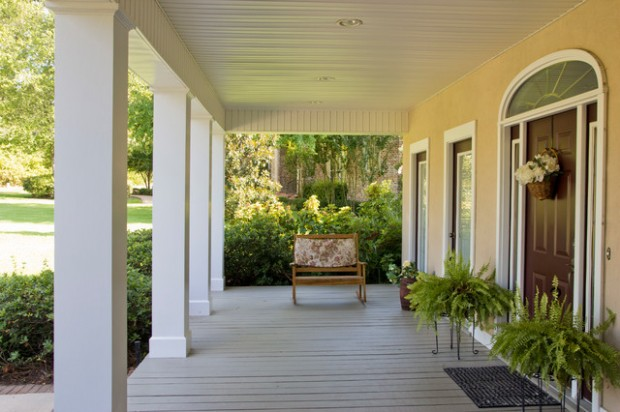 19 Great Traditional Front Porch Design Ideas  (18)