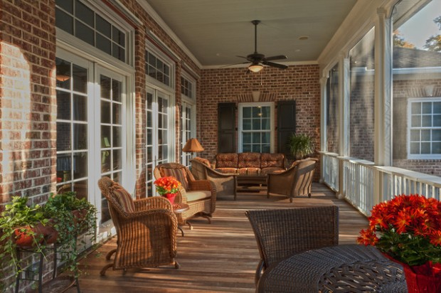 18 great traditional front porch design ideas style for Traditional porch