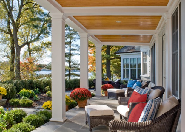Lovely 18 Great Traditional Front Porch Design Ideas