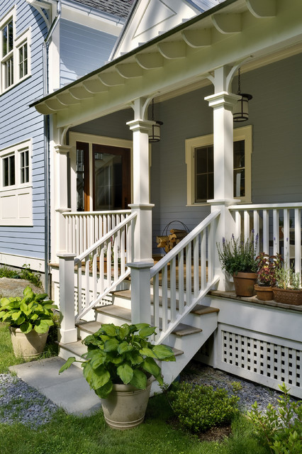 19 Great Traditional Front Porch Design Ideas  (7)