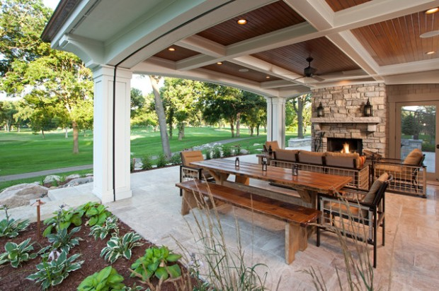 19 Great Traditional Front Porch Design Ideas  (8)