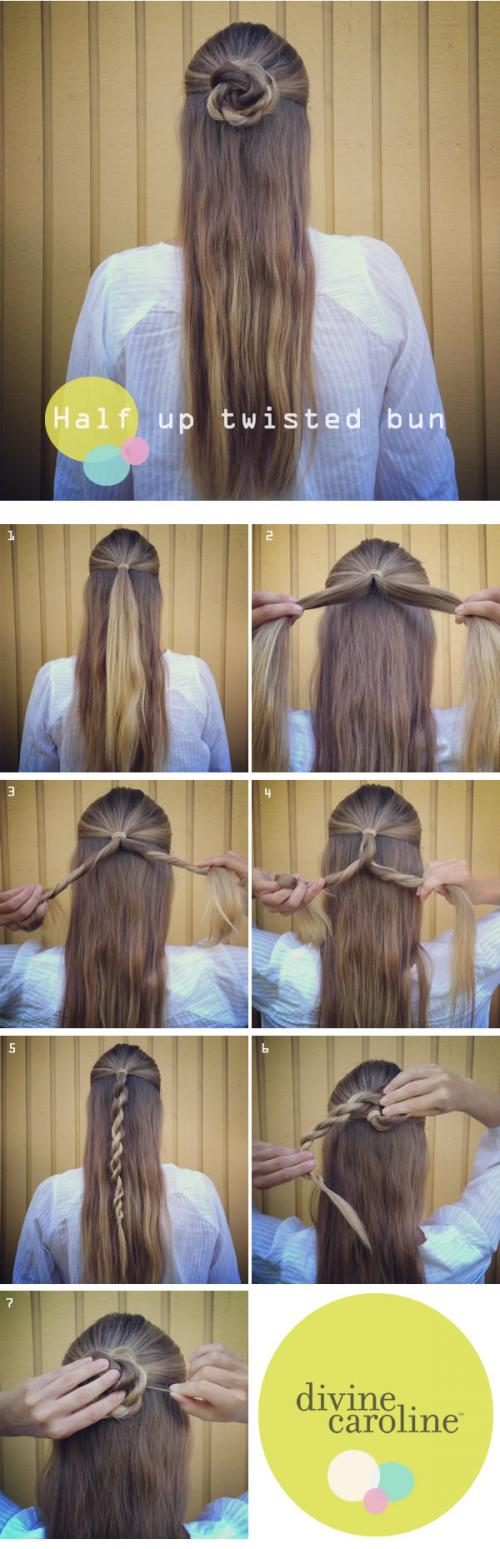 19 Great Tutorials for Perfect Hairstyles (1)