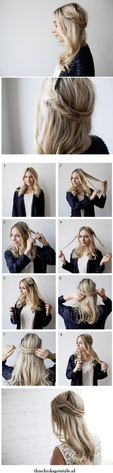 19 Great Tutorials for Perfect Hairstyles (12)