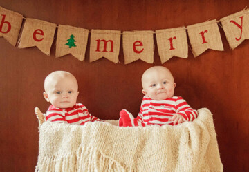 20 Amazing Decorating Ideas with Christmas Banners - winter, snowman, snow, santa, merry christmas, joy, holidays, holiday, happy, garlands, decorations, decoration, decor, Christmas Decorations, Christmas, banners, banner
