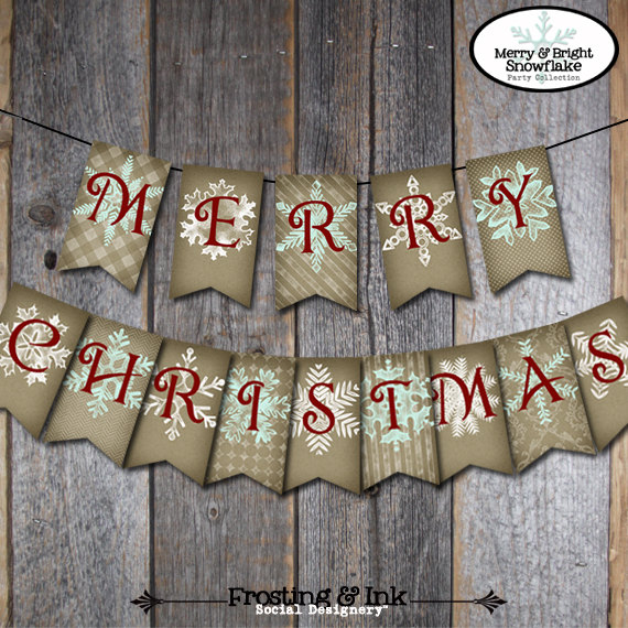 20 Amazing Decorating Ideas with Christmas Banners (14)