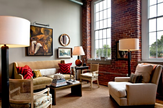 Nice 20 Amazing Interior Design Ideas With Brick Walls