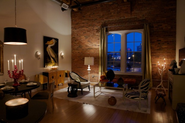 20 Amazing Interior Design Ideas With Brick Walls Part 88