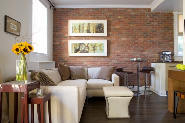 Attractive 20 Amazing Interior Design Ideas With Brick Walls Part 24