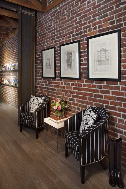 20 amazing interior design ideas with brick walls style for Interior brick wall designs