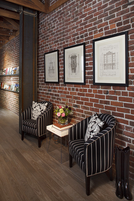 20 amazing interior design ideas with brick walls style for White walls interior design ideas