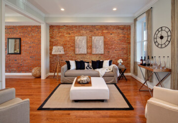 20 Amazing Interior Design Ideas with Brick Walls - interior design, brick wall