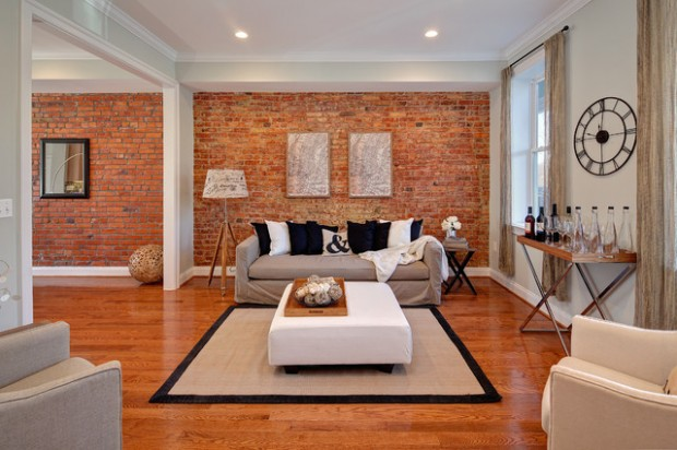 20 amazing interior design ideas with brick walls - Wall Interior Design Photos