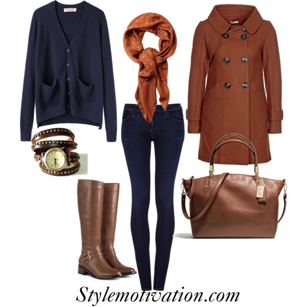 polyvore winter outfits 2019