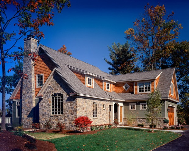 19 Beautiful Stone Houses Exterior Design Ideas Style