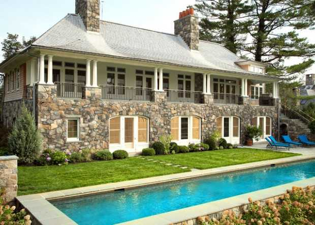19 Beautiful Stone Houses Exterior Design Ideas
