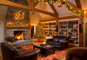 16 Brilliant Ideas How to Decorate Your Living Room for Christmas - living room decorating, christmas decoration