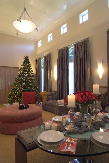 16 brilliant ideas how to decorate your living room for - How to decorate living room for christmas ...
