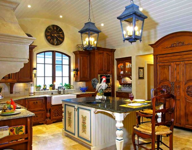 20 Country Style Kitchen Design Ideas