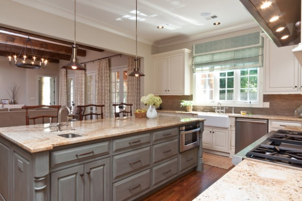20 country style kitchen design ideas style motivation for Country themed kitchen ideas