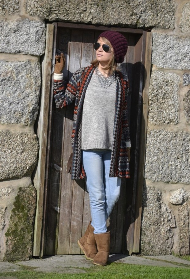 20 Cute Outfit Ideas with Beanie (13)