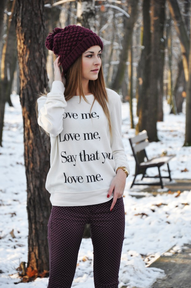20 Cute Outfit Ideas with Beanie (18)