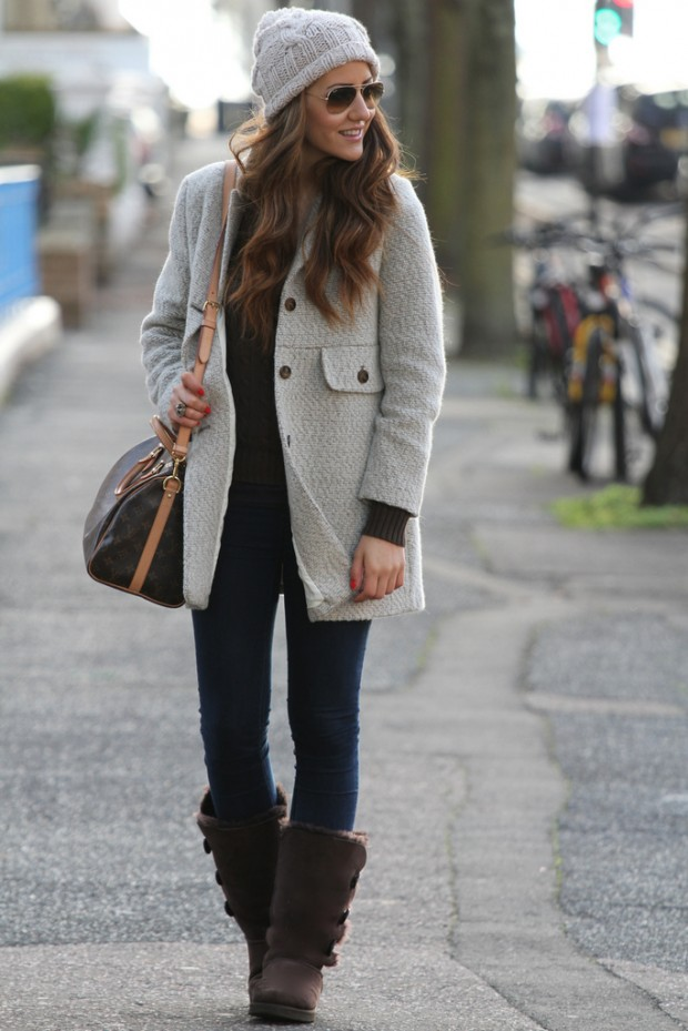20 Cute Outfit Ideas with Beanie (2)