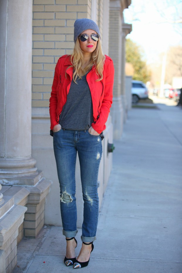 20 Cute Outfit Ideas with Beanie (3)