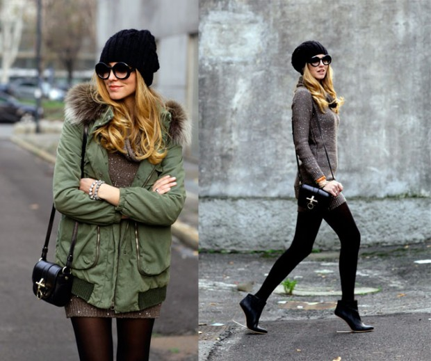 20 Cute Outfit Ideas with Beanie (4)