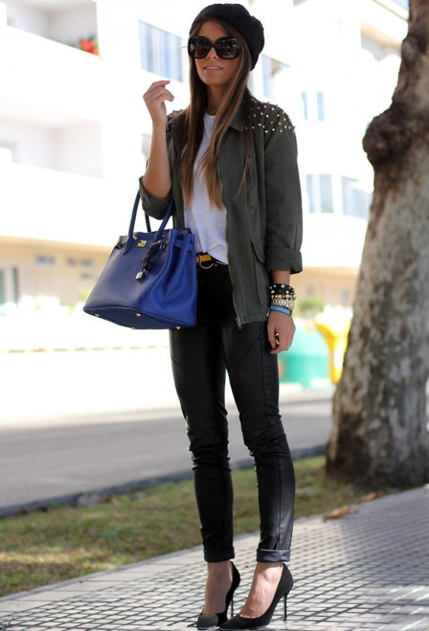 20 Cute Outfit Ideas with Beanie (5)