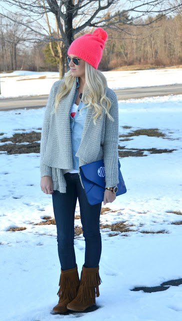 20 Cute Outfit Ideas with Beanie (6)