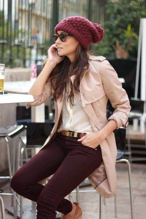 20 Cute Outfit Ideas with Beanie (7)