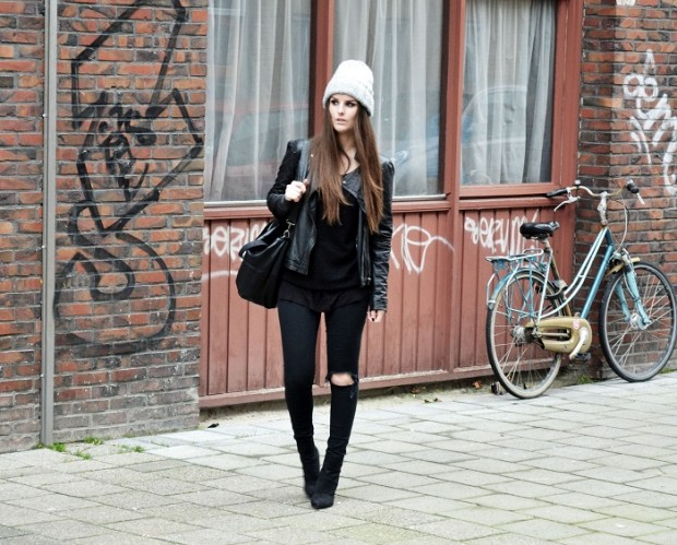 20 Cute Outfit Ideas with Beanie (9)