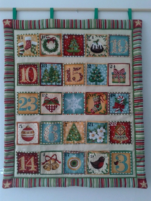 Sewn Advent Calendar Ideas : Enchanting handmade christmas advent calendar ideas