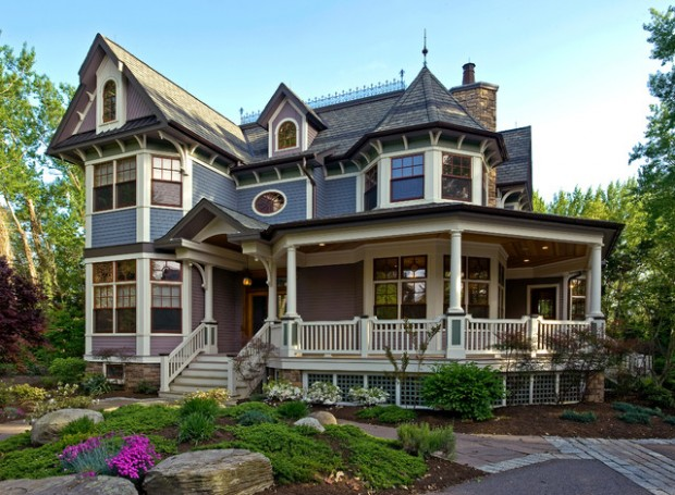 20 Gorgeous Houses in Victorian Style (17)