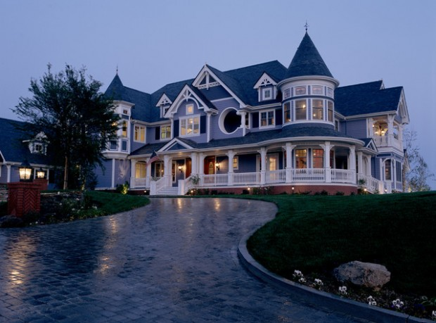 18 gorgeous houses in victorian style style motivation for Big modern houses pictures