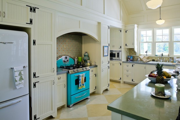 20 Great Kitchen Design Ideas in Retro Style (10)